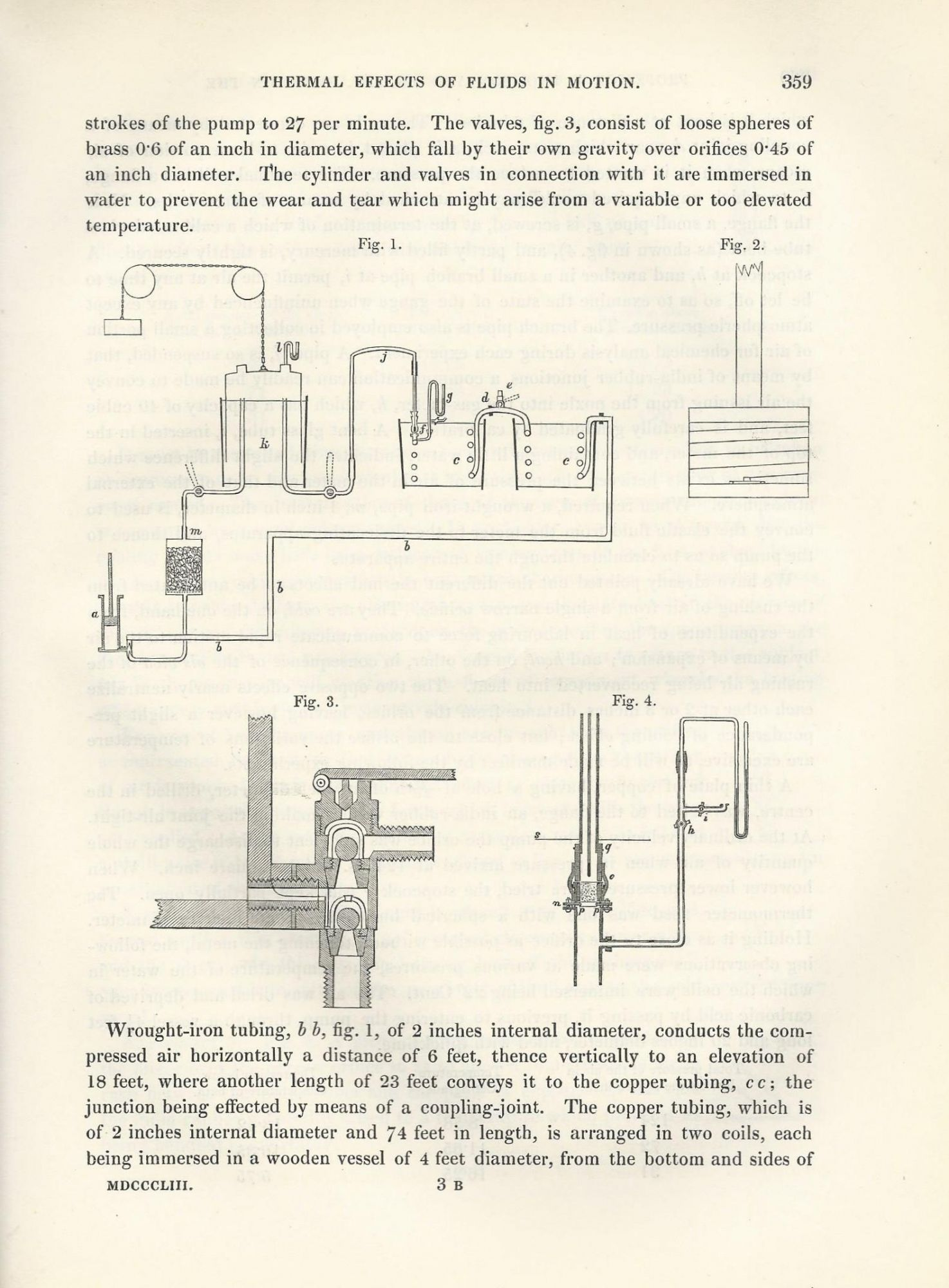 JOULE-THOMSON EFFECT: On the Thermal Effects of Fluids in Motion  Philosophical Transactions of the Royal Society of London, Vol  143 for the  Year 1853