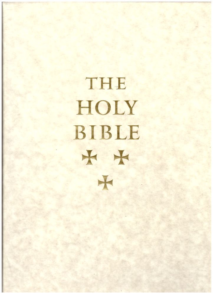 The Holy Bible, Containing All The Books Of The Old And New Testaments: King James Version. Artist, Designer.