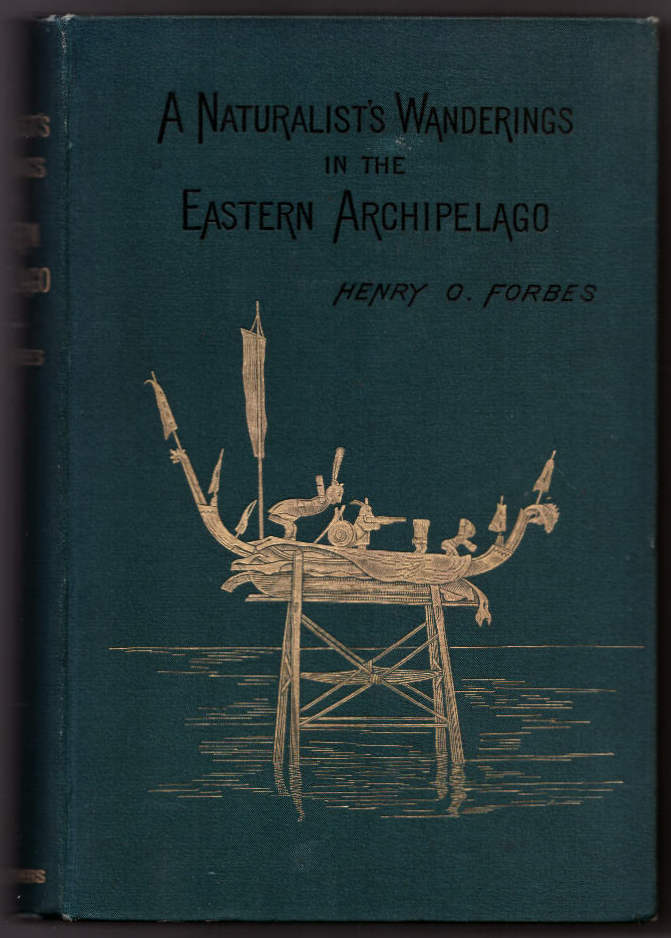 A Naturalist's Wanderings in the Eastern Archipelago: A Narrative of Travel and Exploration From 1878 to 1883. Henry O. Forbes.