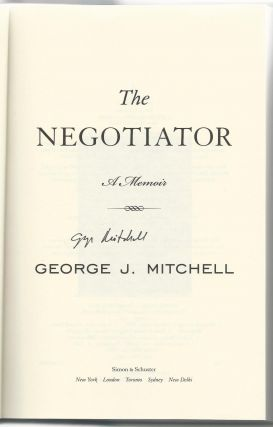 The Negotiator: Reflections on an American Life