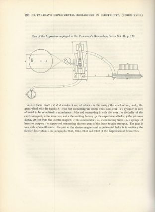 """""""Experimental Researches in Electricity -- Twenty-Third Series"""" (Philosophical Transactions of the Royal Society of London, Vol. 140 for the Year 1850 Part I, pp. 171-188)"""