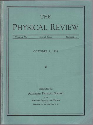 "YANG-MILLS THEORY: ""Conservation of Isotopic Spin and Isotopic Gauge Invariance"" (Physical Review: Volume 96 No. 1 pp. 191-195)"