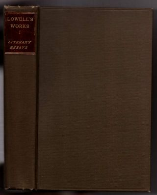 Lowell's Works (11 Volumes). James Russell Lowell