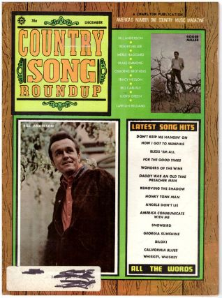 Country Song Roundup (3 Issues)
